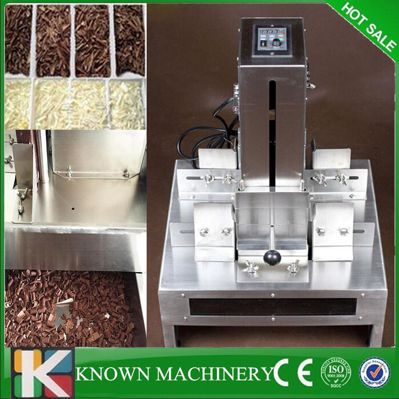 Stainless steel Electric chocolate flaking maker chocolate shaving shaver making machine