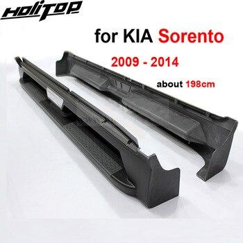 Yeni varış KIA Sorento için koşu kurulu araç kapısı yan basamağı nerf bar, yüksek kalite fabrika ürün, 2009 2010 2011 2012 2013 2014