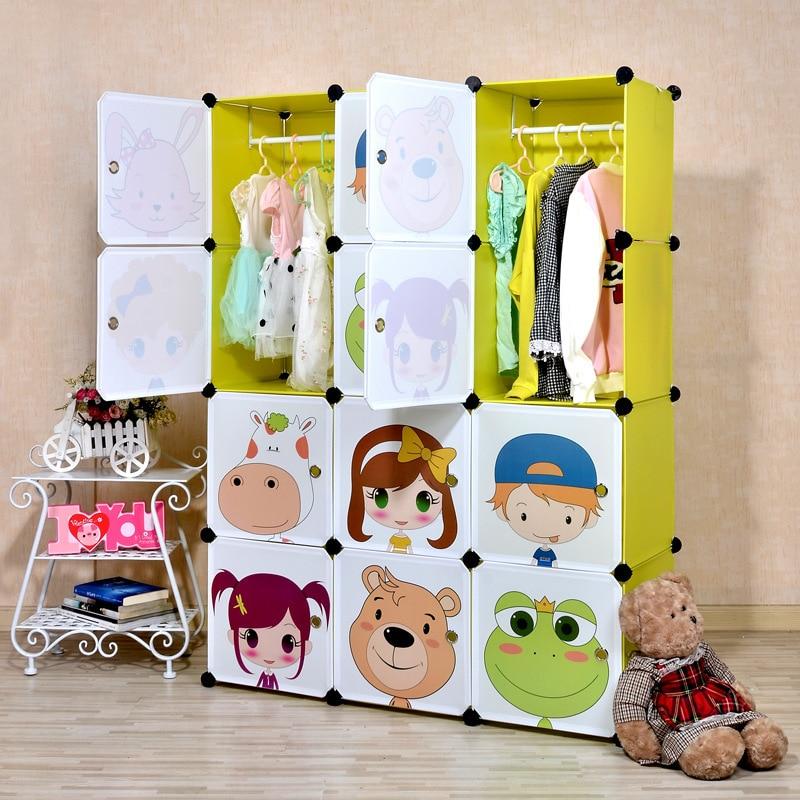 Superior Aliexpress.com : Buy 16 Cubes Simple Cartoon Children Hanging Wardrobe Closet  Kids Closet Organizer