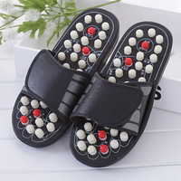 Sandal Reflex Massage Slipper Shoes Rotating Accupressure Rotating Acupressure Reflexology Foot Healthy Massager Shoe Slippers