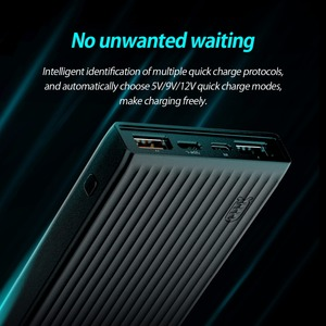Image 2 - ORICO QC3.0 Power Bank 10000mAh BC1.2 Type C Two way Quick Charger 18W Max Output External Battery for Samsung Xiaomi