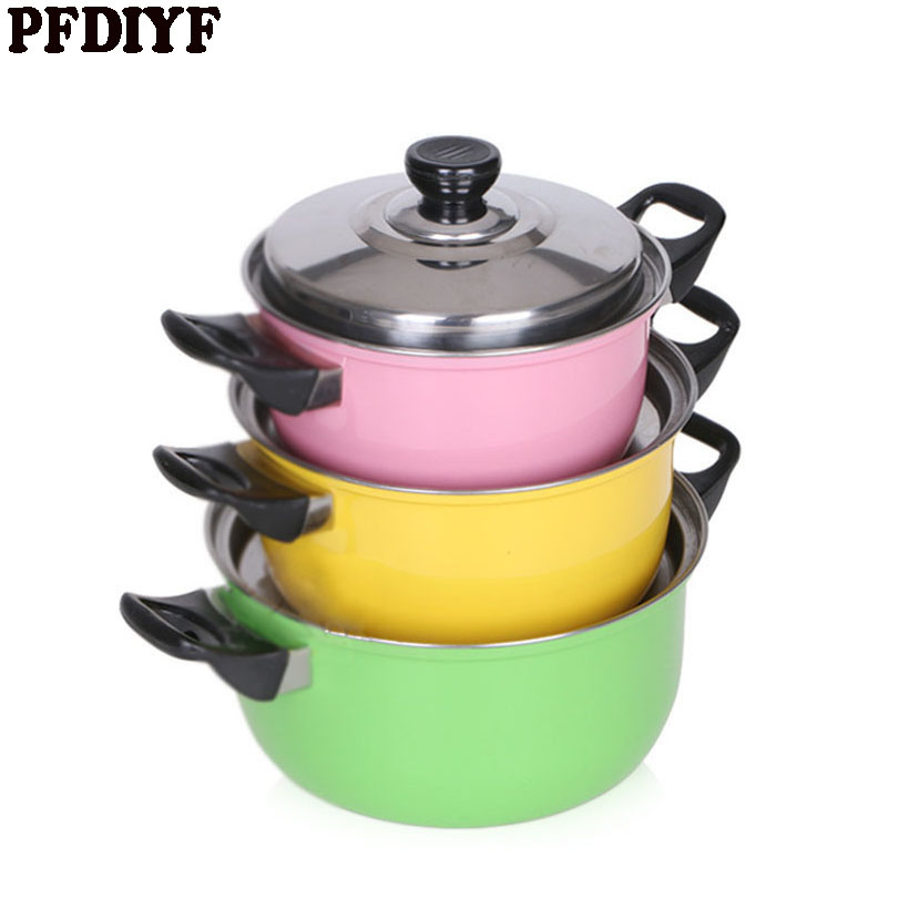 Beautiful three pcs cookware set