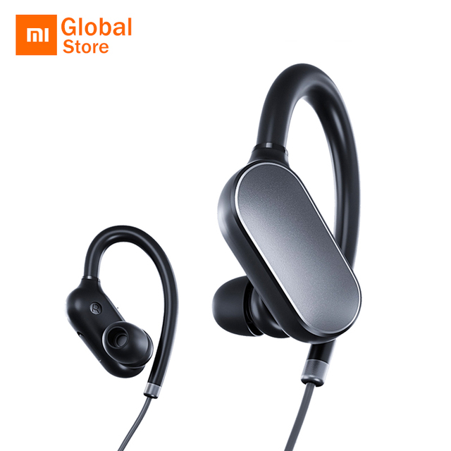 ad71be22be9 Original Xiaomi Mi Sports Bluetooth Headset Bluetooth 4.1 Music Earbuds Mic  IPX4 Waterproof Wireless Earphones for