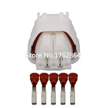 Automotive Instrumentation plug-in connector 5pin  car plug With terminal DJ7051B-2.2-21 5P connector цена