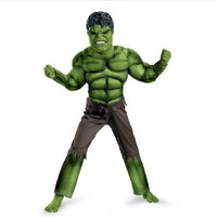 Hulk Costume Kids Boys Adult Men Incredible Children S Superheroes Avengers Hulk Halloween Muscle Green Cosplay