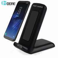 DCAE Qi Wireless Charger For Samsung S8 S8 Plus Fast Wireless Charger For IPhone 8 X