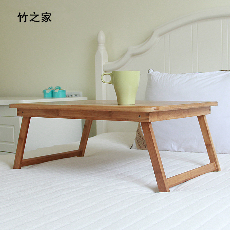 Simple folding desk laptop desk modern sidebed table top
