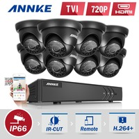 ANNKE 720P 8CH 1080P HDMI Surveillance Kit 8pcs 1200TVL HD 1 0MP CCTV IR Outdoor Waterproof
