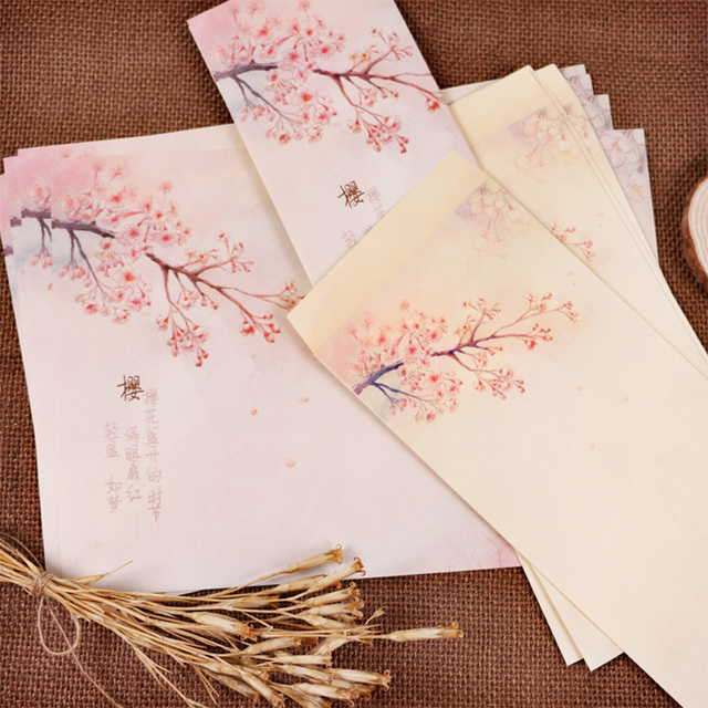Envelope Handmade Vintage Wedding Invitation Gift Decorative Envelopes Creative Writing Craft Printing Letter Paper Stationery