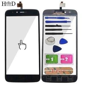 Image 1 - 5.5 ekran ekran dotykowy Panel dla Homtom HT50 HT 50 ekran dotykowy Digitizer przednia szybka z ekranem dotykowym czujnik narzędzie klej chusteczki