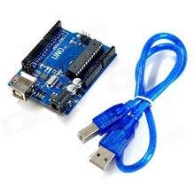 UNO R3 Development Board for Arduino ATMEGA328P MEGA16U2 +USB Cable, free shipping