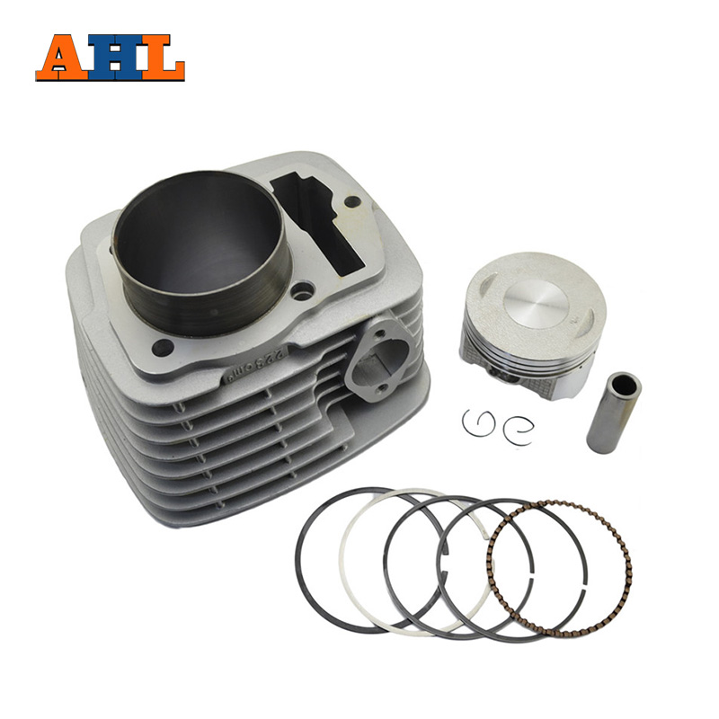 цена на AHL 100% Brand New Air Cylinder Block & Piston Kit & Gasket Kit For HONDA SL230 CRF230 FTR223 XR230 Cylinder Kit