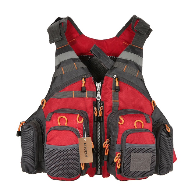 Outdoor Sport Fishing Life Vest Breathable Swimming Life Jacket Safety Waistcoat