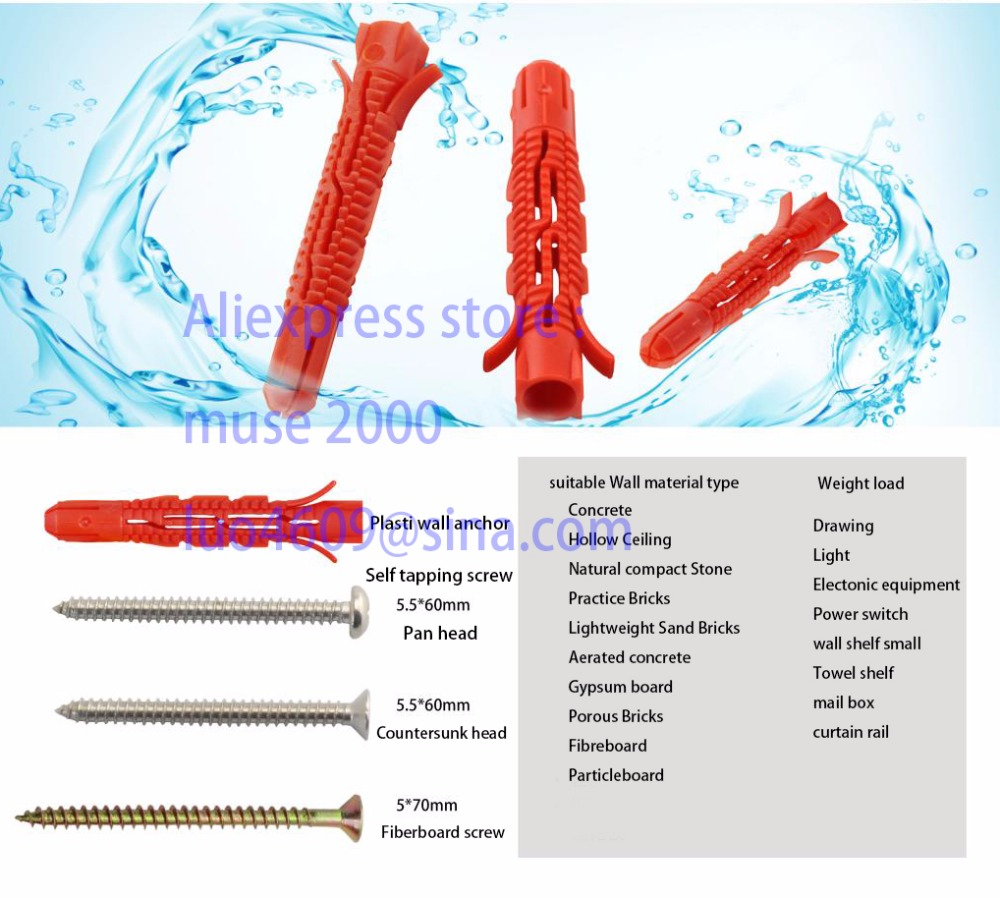 Online Shop for screws anchors Wholesale with Best Price