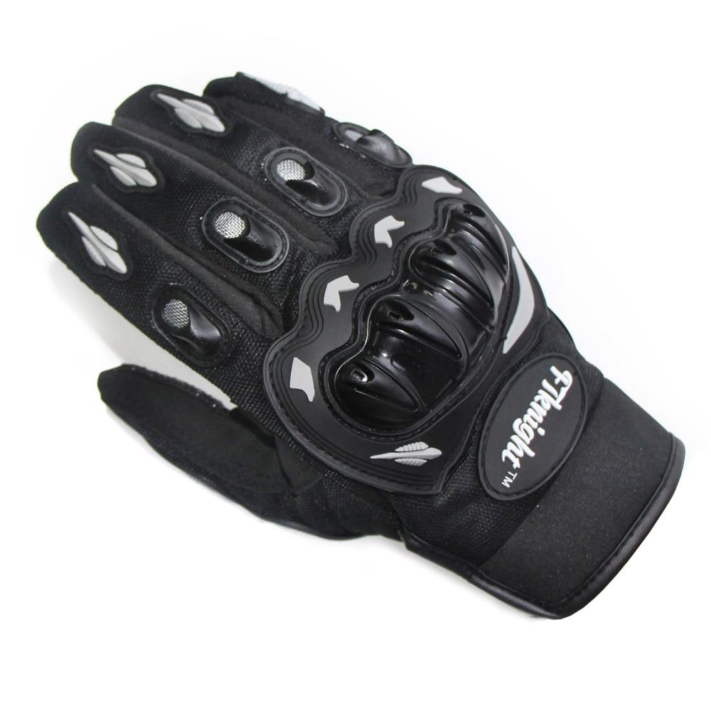 Motorcycle Skidproof Hard Shell Full Finger Gloves Motorbike Protective Palm Non-slip Breathable Racing Glove Motocross Summer