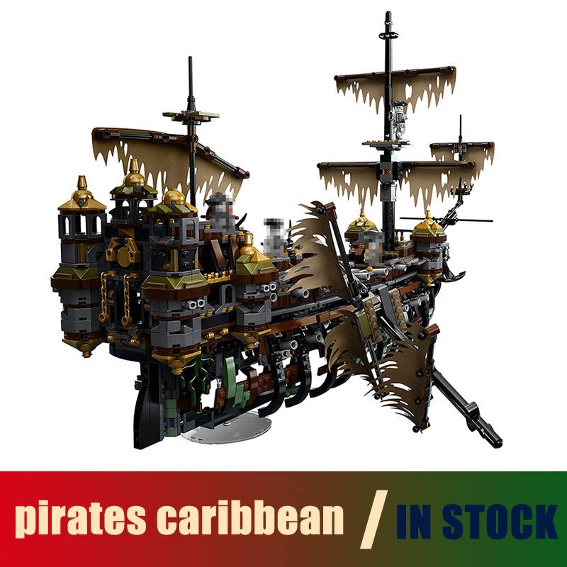 Compatible Lego pirates caribbean 71042 Models Building Toy The Slient Mary Set 2344pcs 16042 Building Blocks Toys & Hobbies compatible with lego 4195 models building toy 39008 1222pcs queen anne s revenge pirates of caribbean building blocks