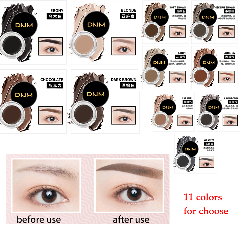 Beauty Essentials Two-color Fog Cushion Air Cushion Liquid Eyebrow Pencil Eyebrow Dye Eyebrow Powder Long-lasting Waterproof Beauty Tools