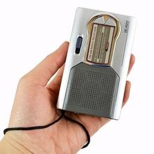 Мини портативное радио двухдиапазонное FM/AM радио карманное радио со встроенным динамиком высокое качество