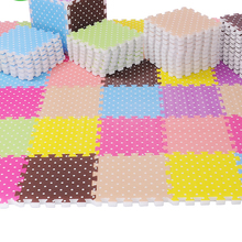 Children's soft developing crawling rugs baby play puzzle eva foam mat pad floor for baby games 30*30*2.5cm Color Random
