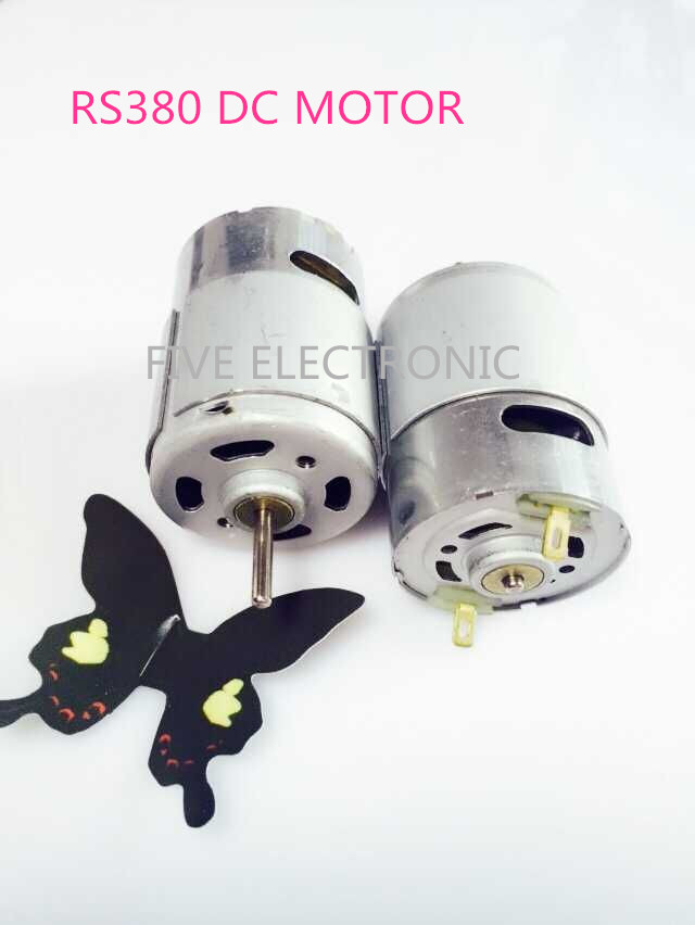 RS380 R380 Carbon-brush 380 DC MOTOR,Use for RC Car/ RC BOAT/DIY MODEL