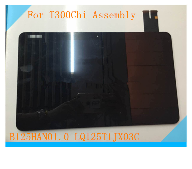 Full LCD display + touch screen digitizer for ASUS Transformer T3Chi T300Chi T300 CHI tablet display B125HAN01.0 LQ125T1JX03C