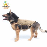 Outdoor Army Tactical Dog Vests Military Dog Clothes Load Bearing Harness SWAT Dog Training Rescue Molle Vest Harness XS XL