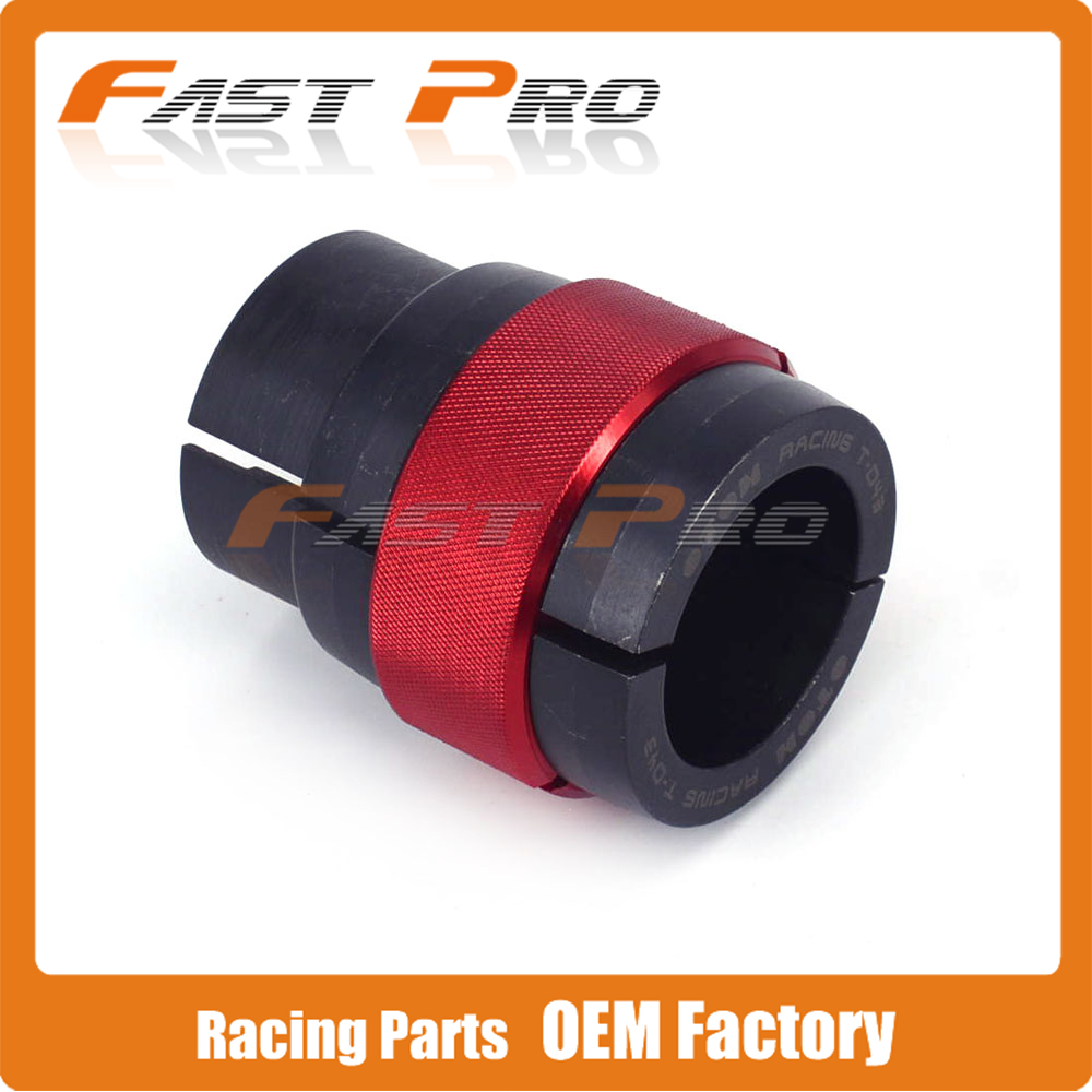 Motorcycle CNC 43mm Ringer Tool Oil Seal Bushing Driver Install For Front Shock Absorber Fork KTM DUKE 640 LC4
