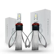 Car Ampoule LED Headlight Bulb H1 H4 H7 H8 H11 9005 9006 HB2 HB3 HB4 LED Light Lamp 80W 12V 6000K 9600LM Auto Headlamp Kit