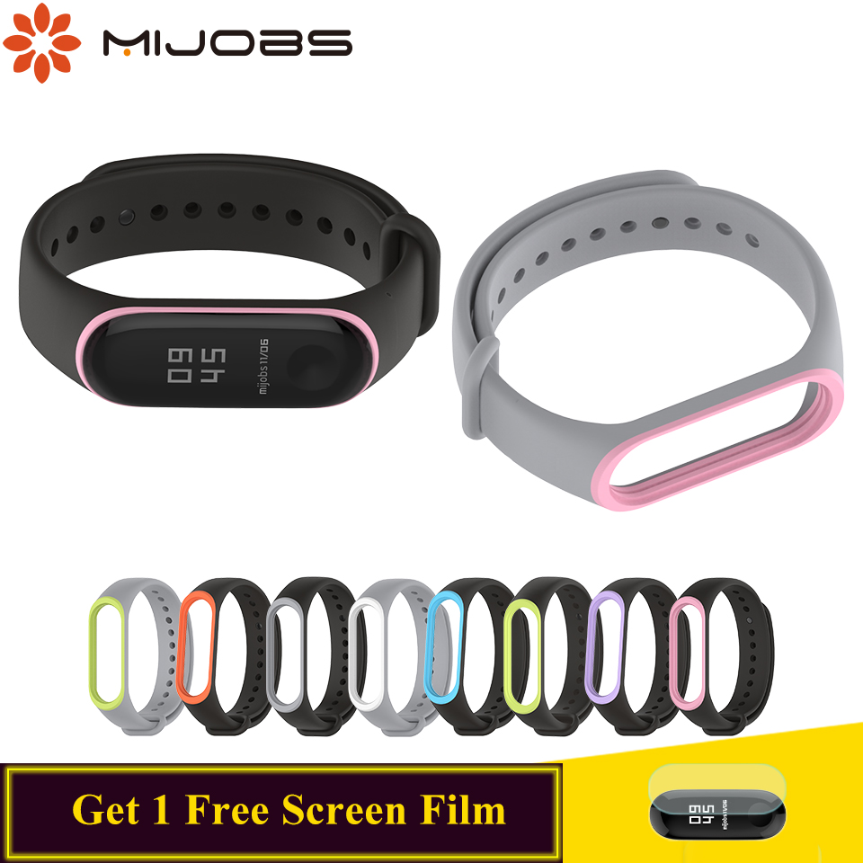 For Mi Band 4 Strap Silicone For Xiaomi Miband 4 3 Strap Smart Watch Bracelet For Mi Band 3 4 Wrist Bracelet Accessories