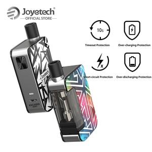Image 5 - [المتجر الرسمي] الأصلي Joyetech تتجاوز قبضة نظام جراب عدة بنيت في بطارية 1000mAh صالح EX M شبكة لفائف e السجائر vape عدة