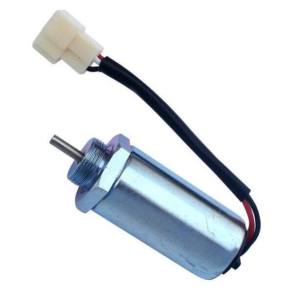 US $65.0 |New Fuel Shutoff Solenoid 12V For JCB 8080/8055 ZTS/8065 on