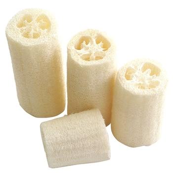 6Pcs Natural Loofah Luffa Loofa Spa Bath Sponge Kitchen Clean Scrubber Exotic 2