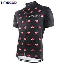 HIRBGOD Mens Stylish Watermelon Cycling Jersey Short Sleeve Lightweight  Sport Road Bicycle Bike Shirt Clothes Apparel 54d3027e2