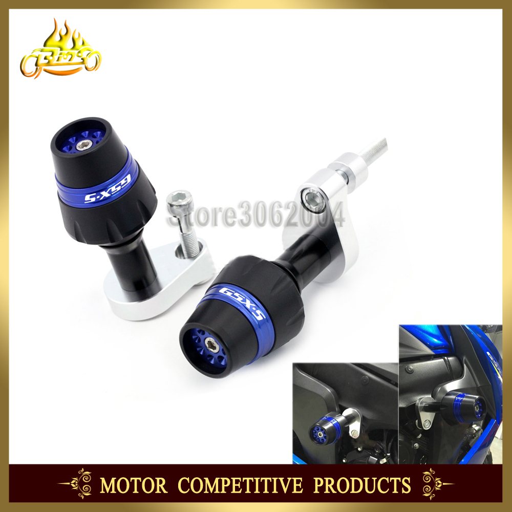 Frame Slider Crash Protector Bobbins Falling Protection Mortorcycle For SUZUKI GSX-S 1000F GSX-S1000F GSXS1000F 2015-2016 CNC цена