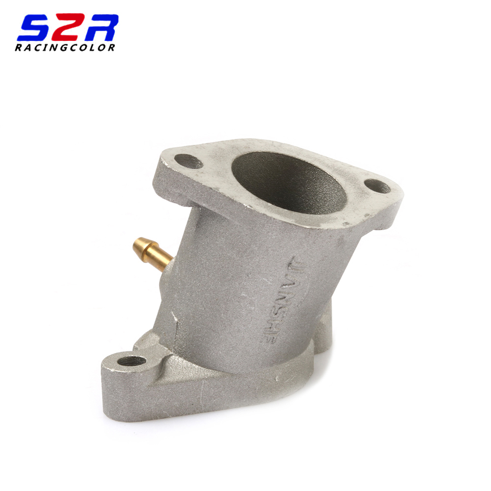 S2R Motorcycle Joint Carburetor Intake Manifold Pipe for YAMAHA YBR125 YBR YB 125 <font><b>125CC</b></font> Accessories <font><b>Engine</b></font> Spare Parts image