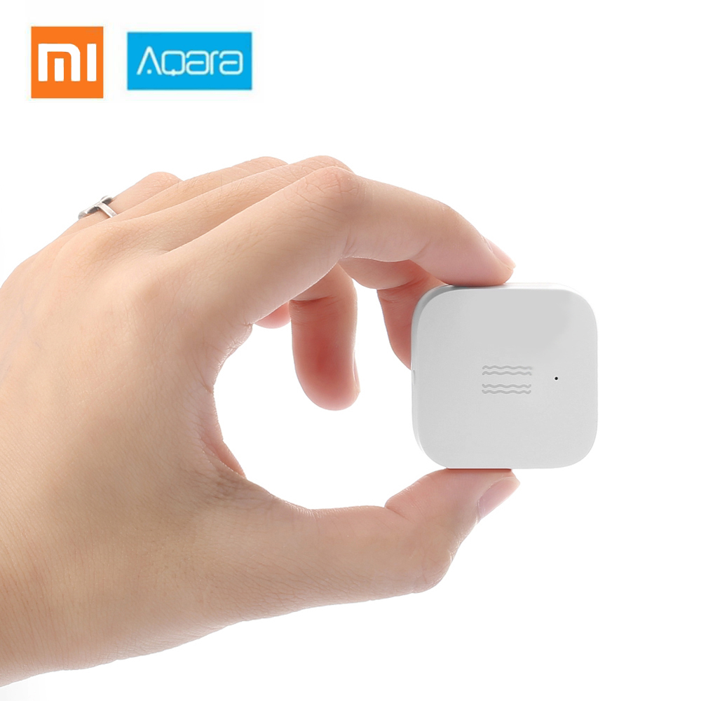 Smart Vibration Sensor For Home Safety International Edition Shock Sensor ZigBee For Xiaomi Mi Home App