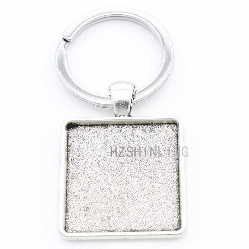 Vintage donne Infermiere charms Spille Up Girl piazza della catena chiave di keychain di modo anello di supporto di nuovo alla moda Gioielli fatti a mano AA16