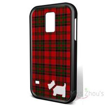 For Samsung Galaxy mini S3/4/5/6/7 edge plus Note2/3/4/5 mobile cellphone cases cover Tartan and Scottie Dog