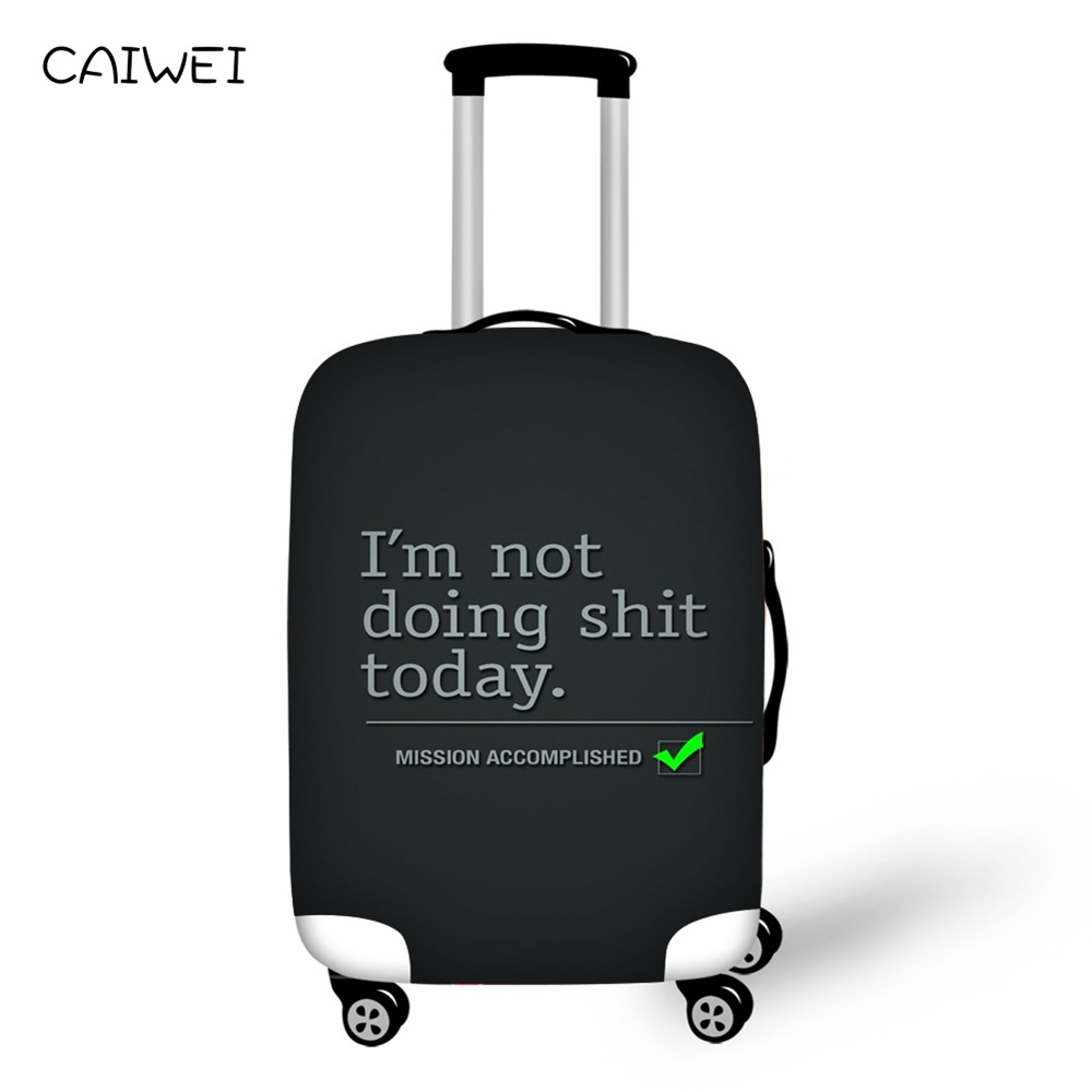 Autumn Design Travel Suitcase Protector Anti-scratch Washable Dust Thicken Elasticity Cover Travel Luggage Cover