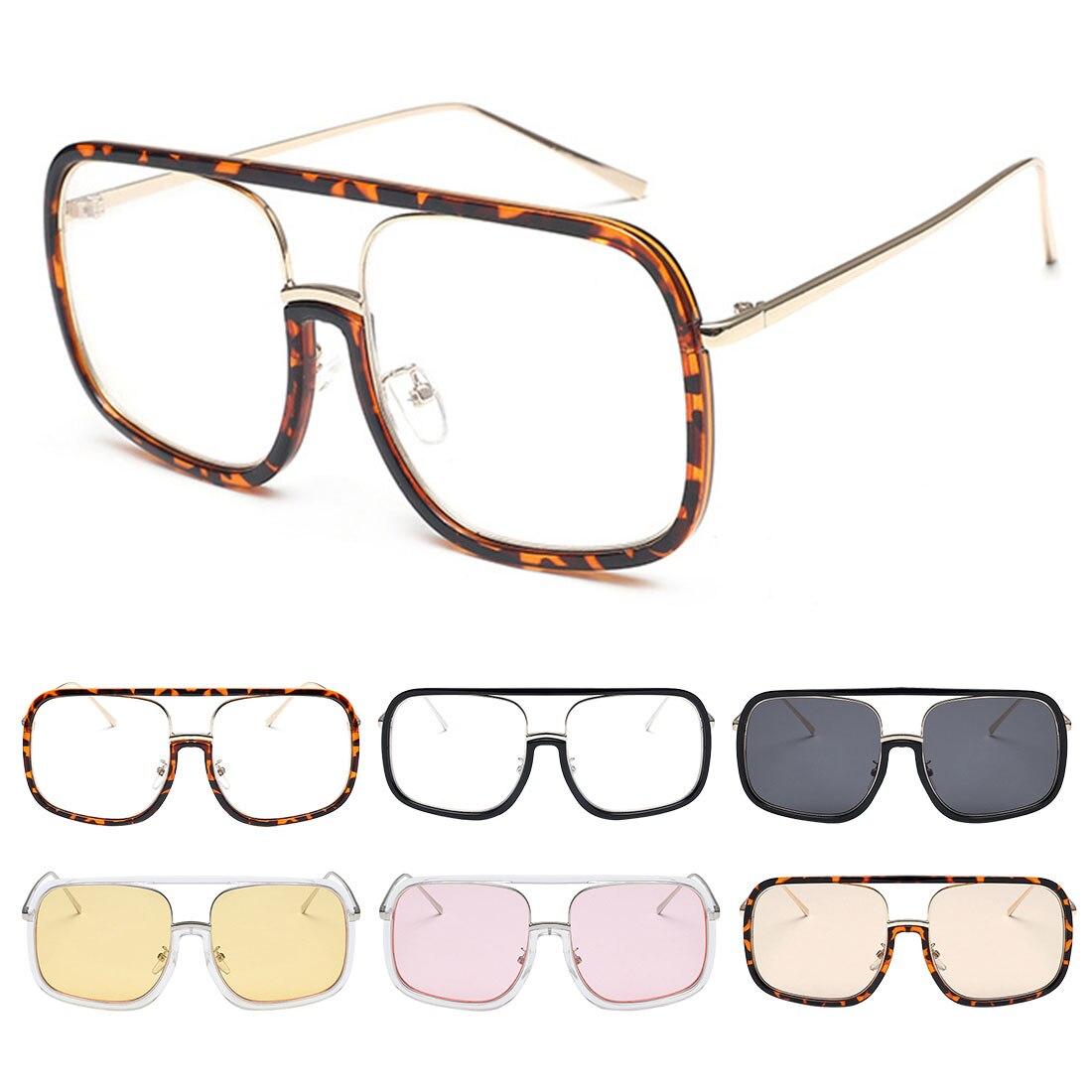 1Pcs Ladies Square Glasses Frames Women Transparent Pink Clear Optical EyeGlasses Prescription Eyewear Computer Glasses in Men 39 s Eyewear Frames from Apparel Accessories