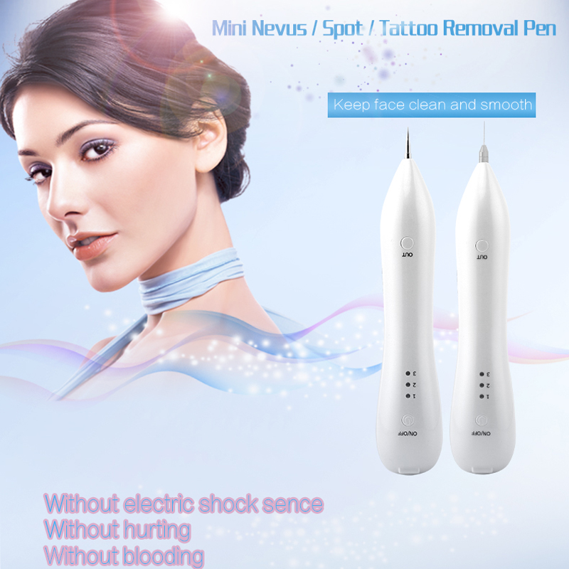 Electric Freckle Removal Machine Skin Mole Dark Spot pigment mole tattoo removal beauty pen for Face Wart Tag Beauty Care Device anti acne pigment removal photon led light therapy facial beauty salon skin care treatment massager machine