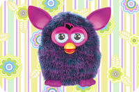 Free Shipping 2015 New Design Custom Doormats Bedroom Cute Cartoon Furby Coussin Carpets Bathroom Cartoon Rugs