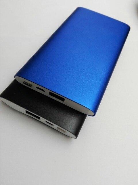2017 Luxury Matte Polymer Super Slim Power Bank 5000mah Portable Charger External Battery 5000mah Mobile Phone Backup Powers