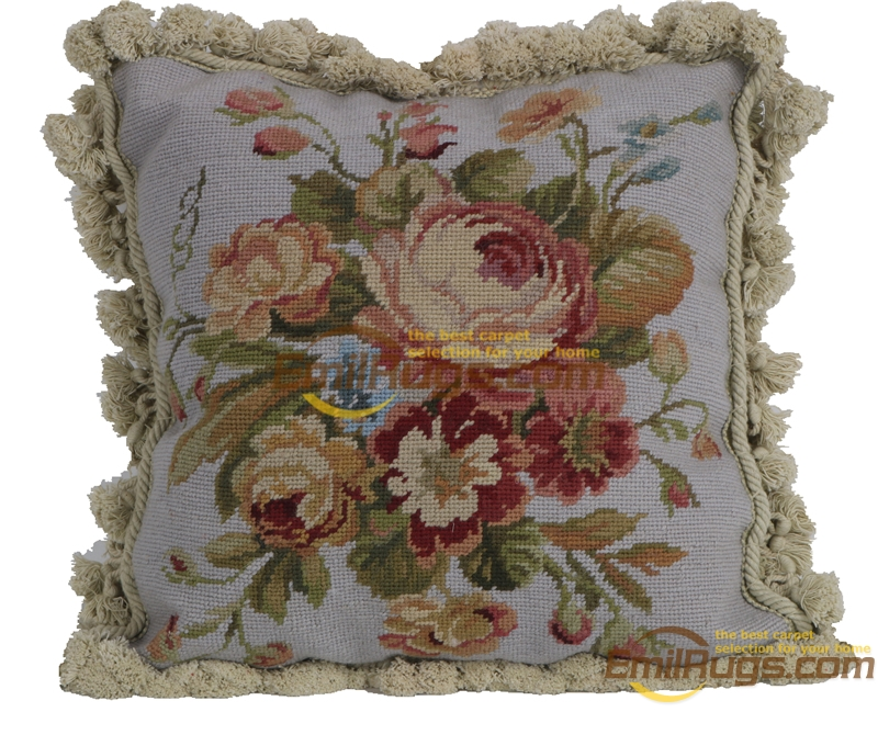 velvet cushion nordic home rose handmade cusion vintage needlepoint pillowcases luxury villa style yk210 20 16x16 gc28neeyg15
