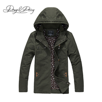 DAVYDAISY 2019 Casual Military Army Cargo Men Jackets Spring Autumn Jacket Men High Quality 100% Cotton Brand Men Coat DCT 223