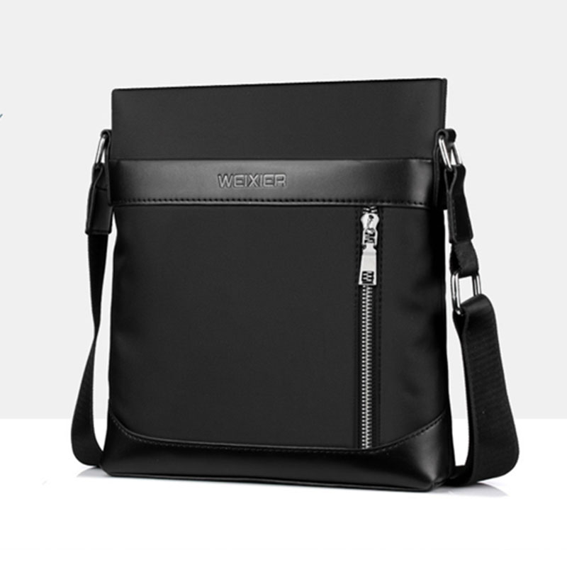 купить 2018 New Men Business Messenger Bag Waterproof Oxford Casual Cross Body Bags Men's Simple Shoulder Bags for Ipad Pack Promotions по цене 871.73 рублей