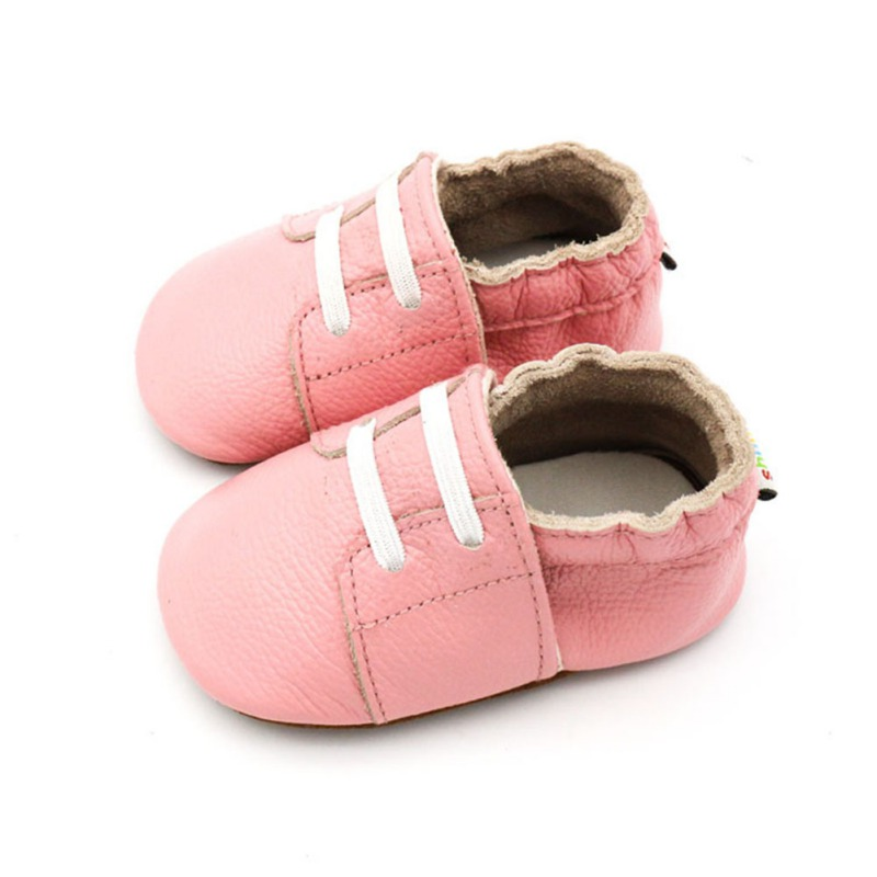 Infant Baby Girl shoes Lovely Princess Leather Shoes Anti Slip Sneakers Soft Sole Toddler Newborn 0 12M in First Walkers from Mother Kids