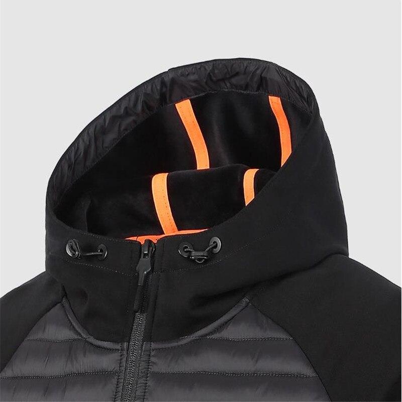 Xiaomi Uleemark hombres abajo chaqueta Casual moda invierno chaqueta abrigo para hombres con capucha algodón acolchado ropa abrigo hombre Outwear otoño - 6