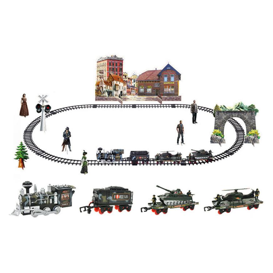 Remote-Control-Conveyance-Car-Electric-Steam-Smoke-RC-Train-Set-Model-Remote-Electric-Control-Toys-gift-for-children-TX4-2