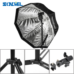 Image 4 - Godox 80cm אוקטגון אמברלה softbox אור מטריות חמה נעל ערכת סוגר פלאש Speedlite